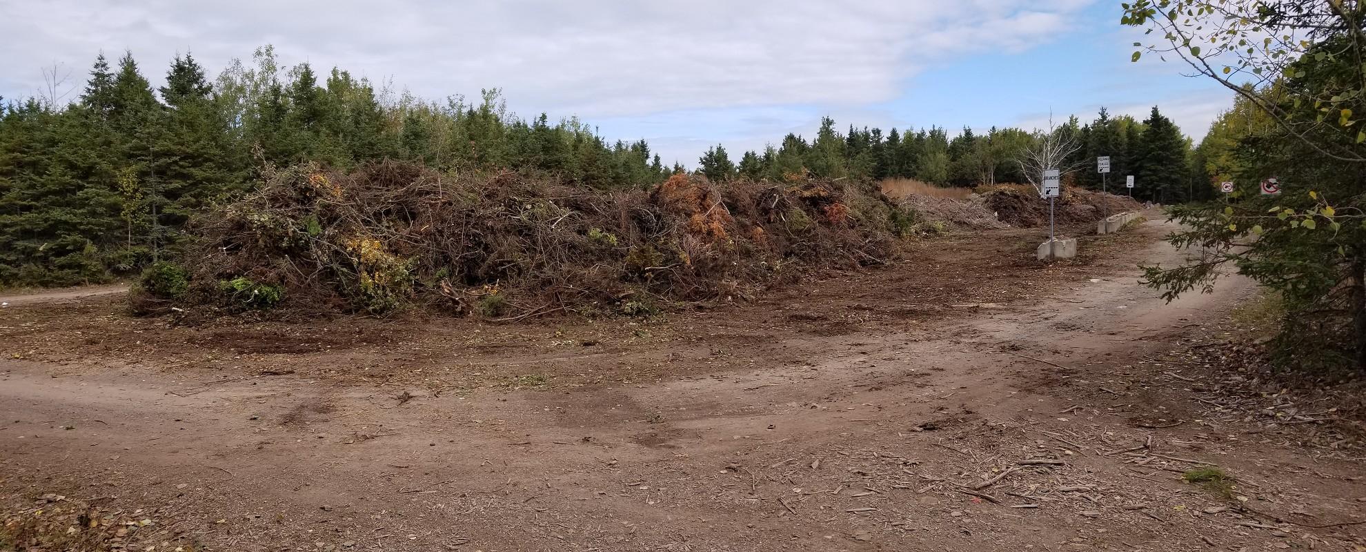 Site de dépôt vert