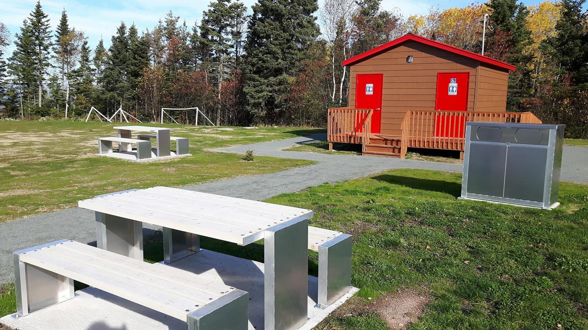 Bloc sanitaire parc Julie-Gagné