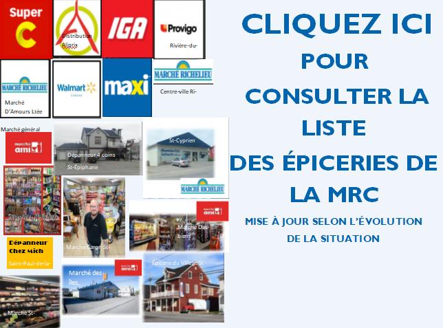Épiceries MRC