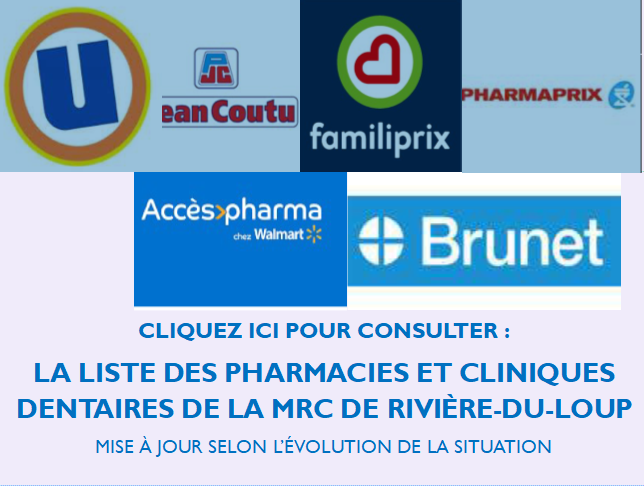 Pharmacies cliniques dentaires