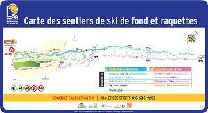 CARTE DES SENTIERS - 2021